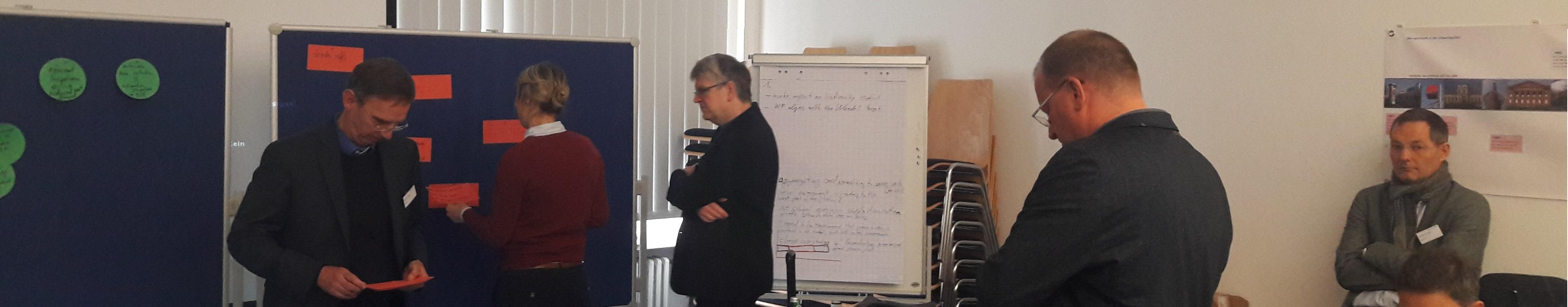 Erster WANDEL International Workshop